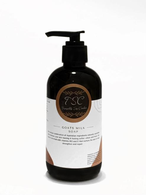 Goats Milk Hand/Body Wash Scented 250ml - Pump