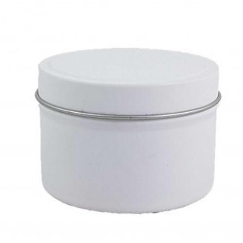 Bulk Buy 48 x Travel Tin Matte Black, White, Copper or Silver 8oz Scented