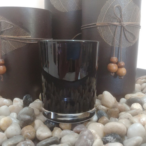 Oxford Votive Transparent Black Scented