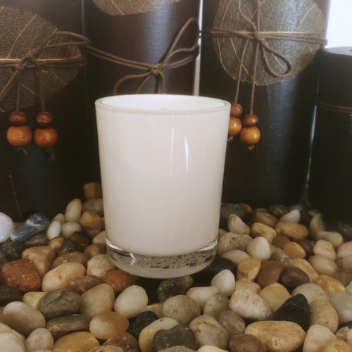 Oxford Votive Transparent White Scented