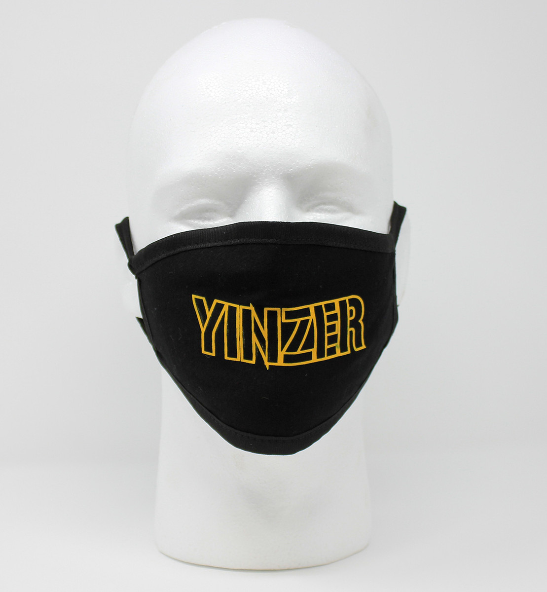 YINZER Black & Gold Mask