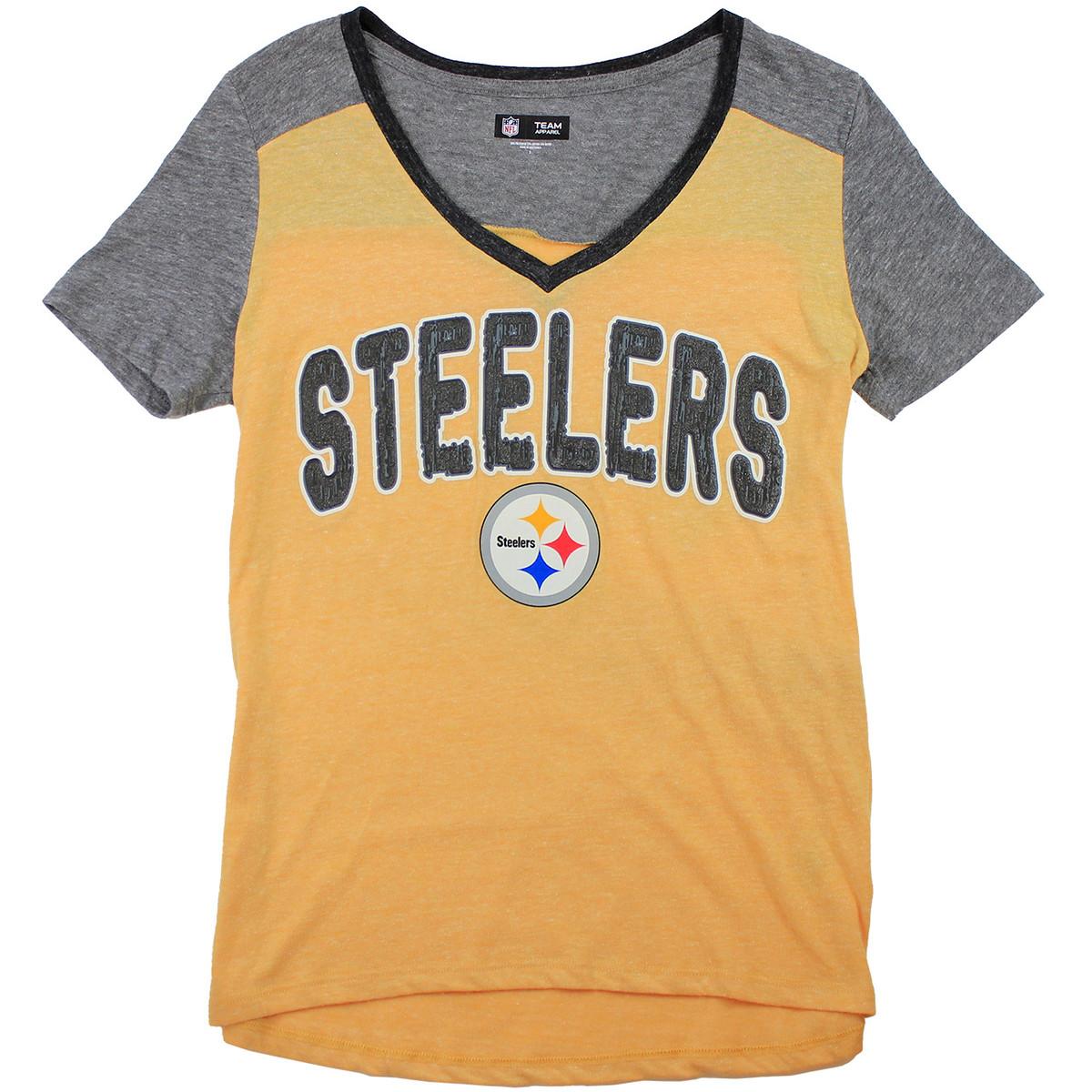 Team Apparel Steelers V-Neck