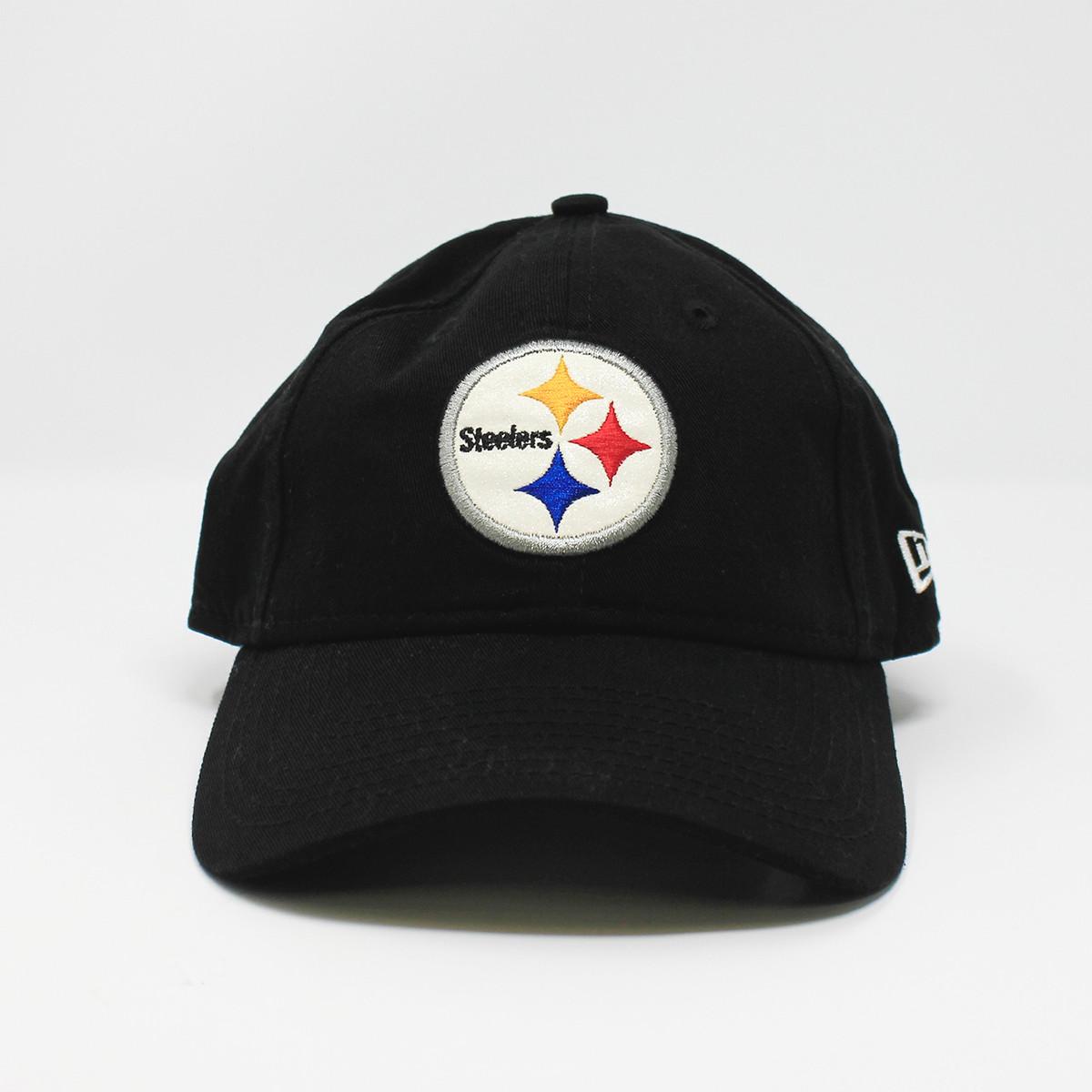 New Era Glisten Steelers Logo Cap