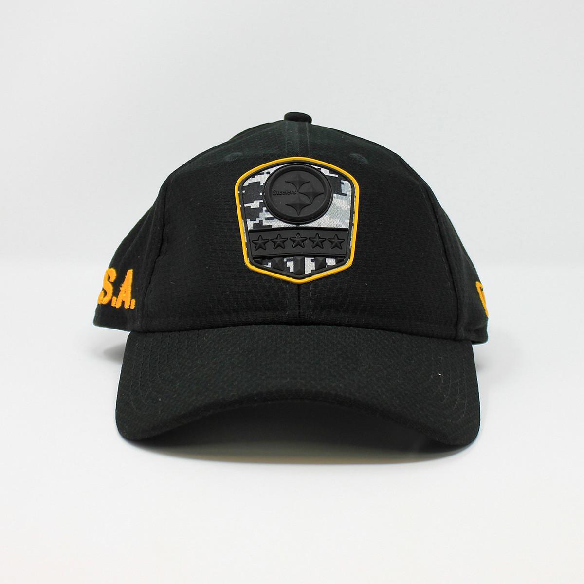 New Era 9Twenty USA Steelers Logo Black