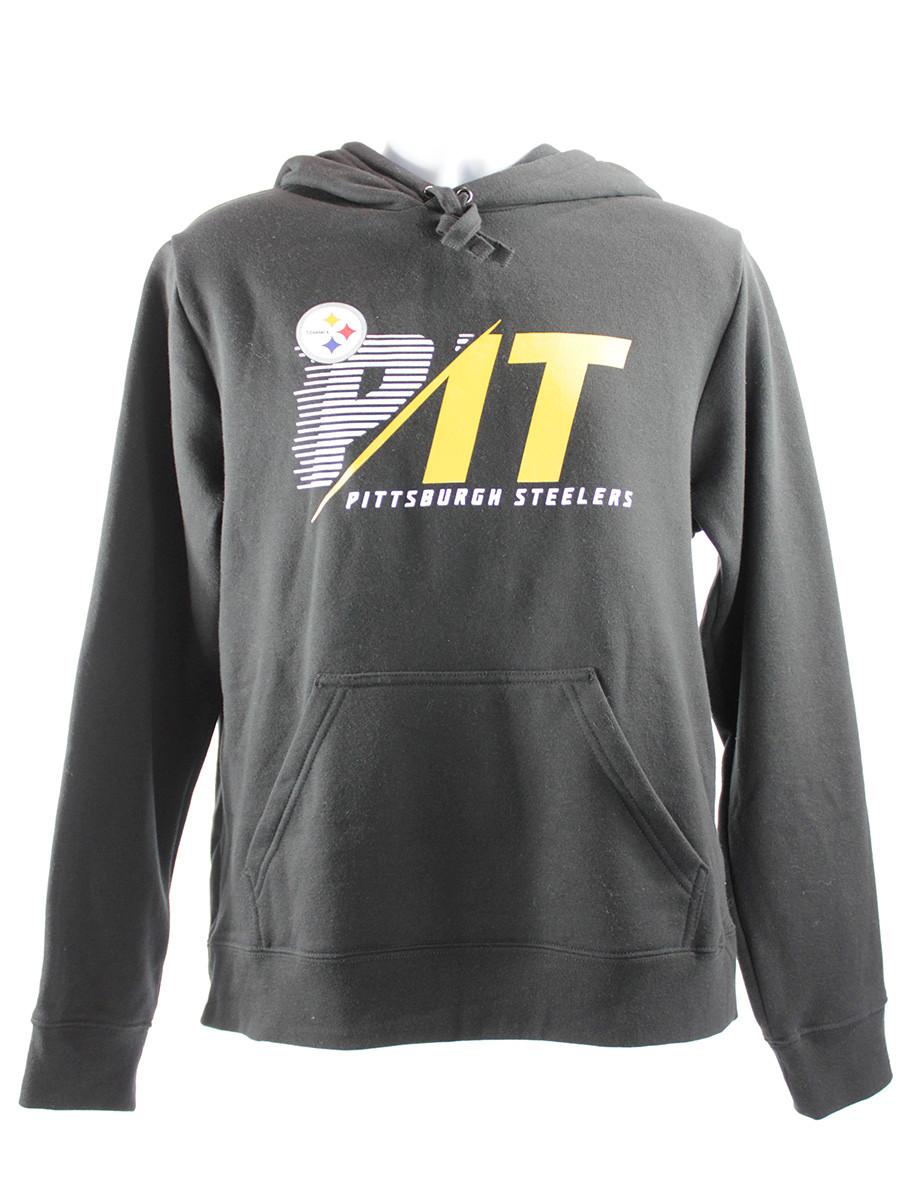 Pittsburgh Steelers Stealth Scanner Pullover Hoodie