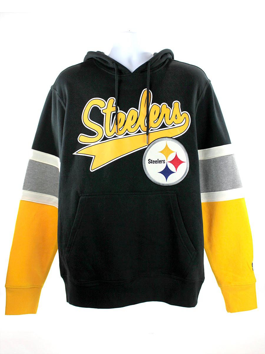 Pittsburgh Steelers Black Gold Starter Hoodie