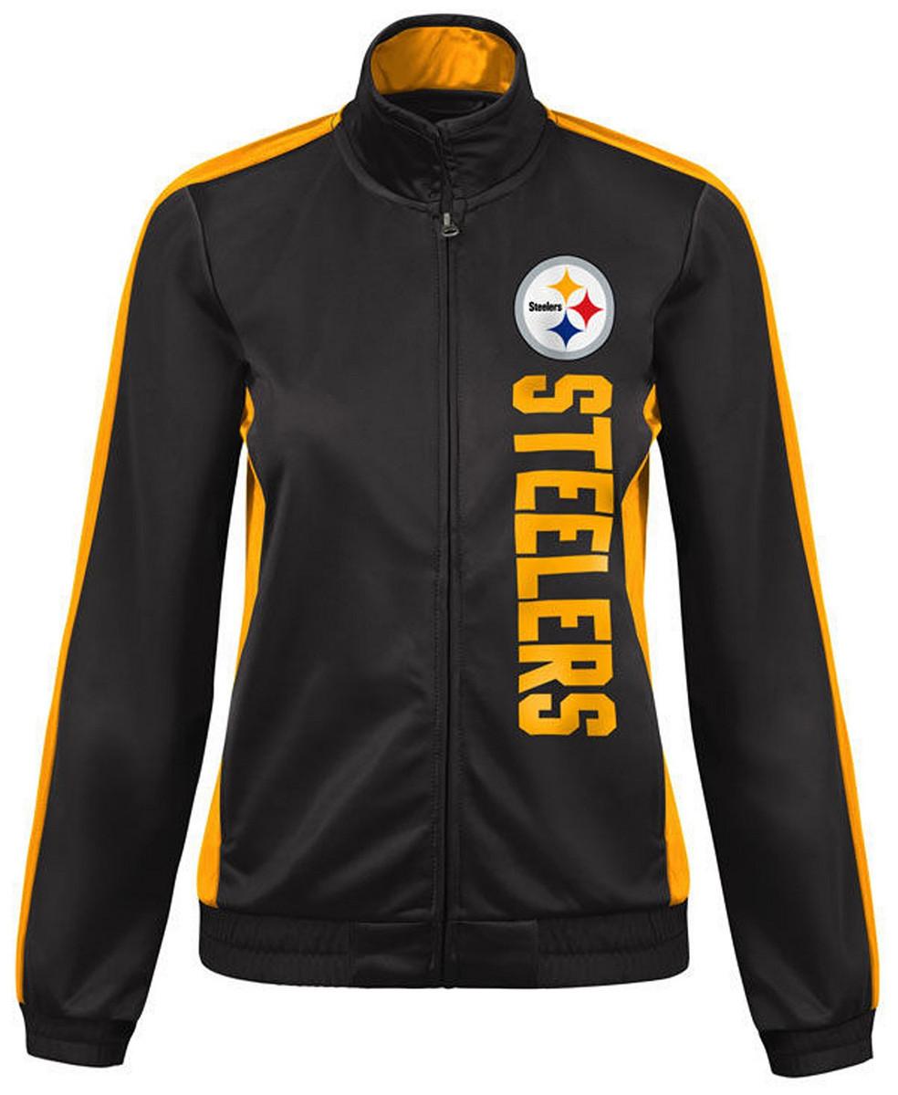 Women's Steelers Backfield Track Jacket