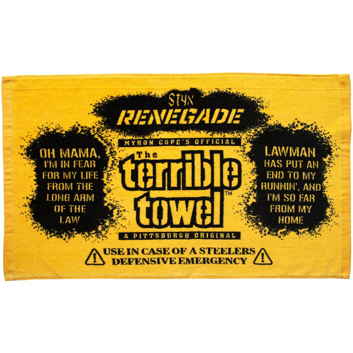 Myron Cope's Pittsburgh Steelers Renegade Terrible Towel