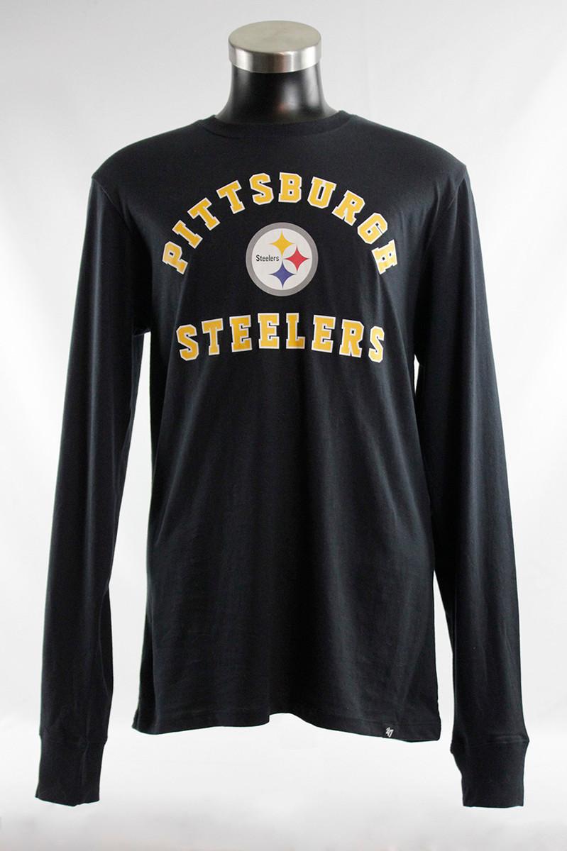 PITTSBURGH STEELERS '47 LONG SLEEVE BLACK & GOLD