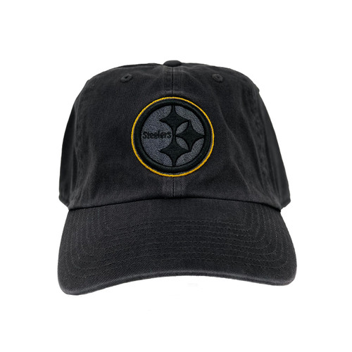 Steelers Fitted OTS Challenger DK Charcoal