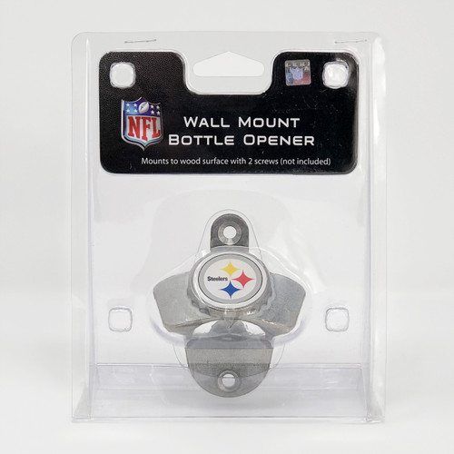 Steelers Wall Mount Bottle Opener