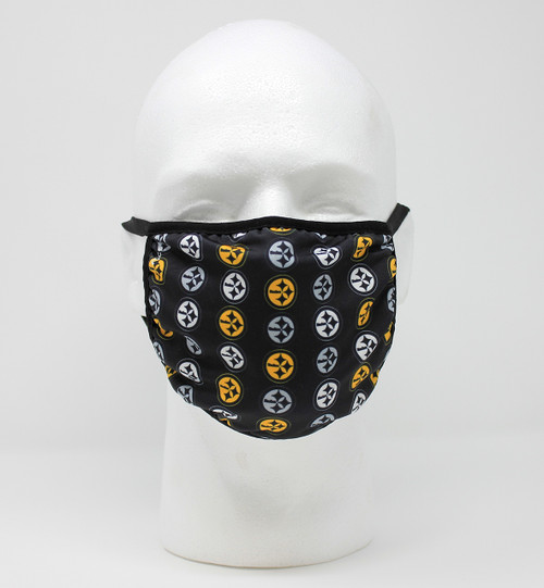 Steelers Logo Circle Mask