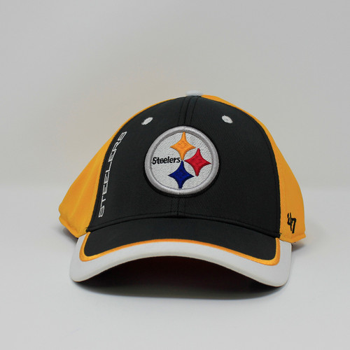 Crash Line 47 Contender Steelers Logo Cap