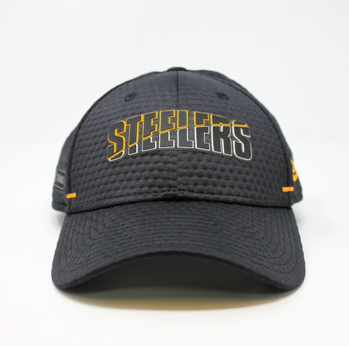 New Era 39Thirty Steelers 2020 Training Cap Adj