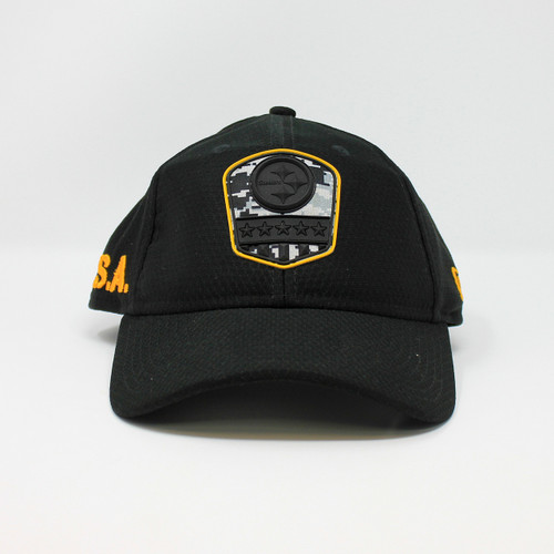 New Era 9Twenty USA Steelers Logo Black