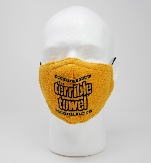 Officially Licensed Terrible Towel Mask