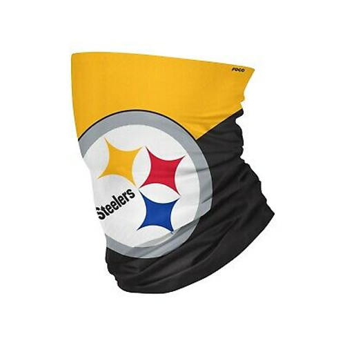 Pittsburgh Steelers Big Logo Gaiter Scarf