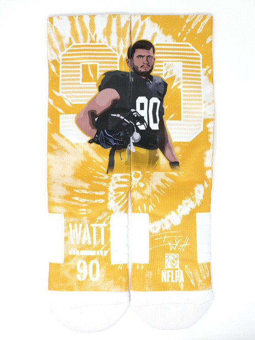 TJ Watt Action Sock