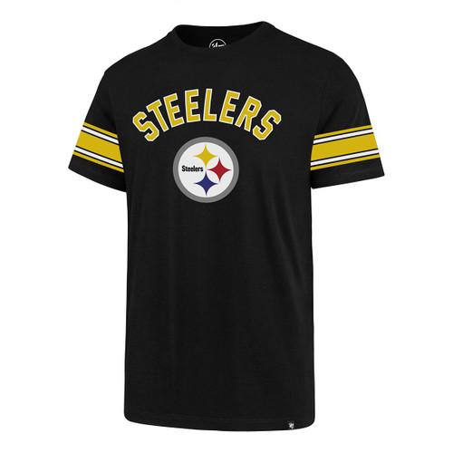 Pittsburgh Steelers '47 Legion Team Stripe Short Sleeve T-Shirt