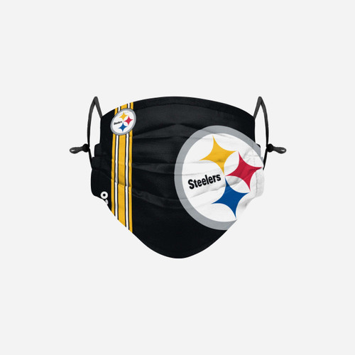 Pittsburgh Steelers On-Field Sideline Logo Face Cover