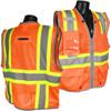 Heavy Duty Two Tone Surveyor Vest