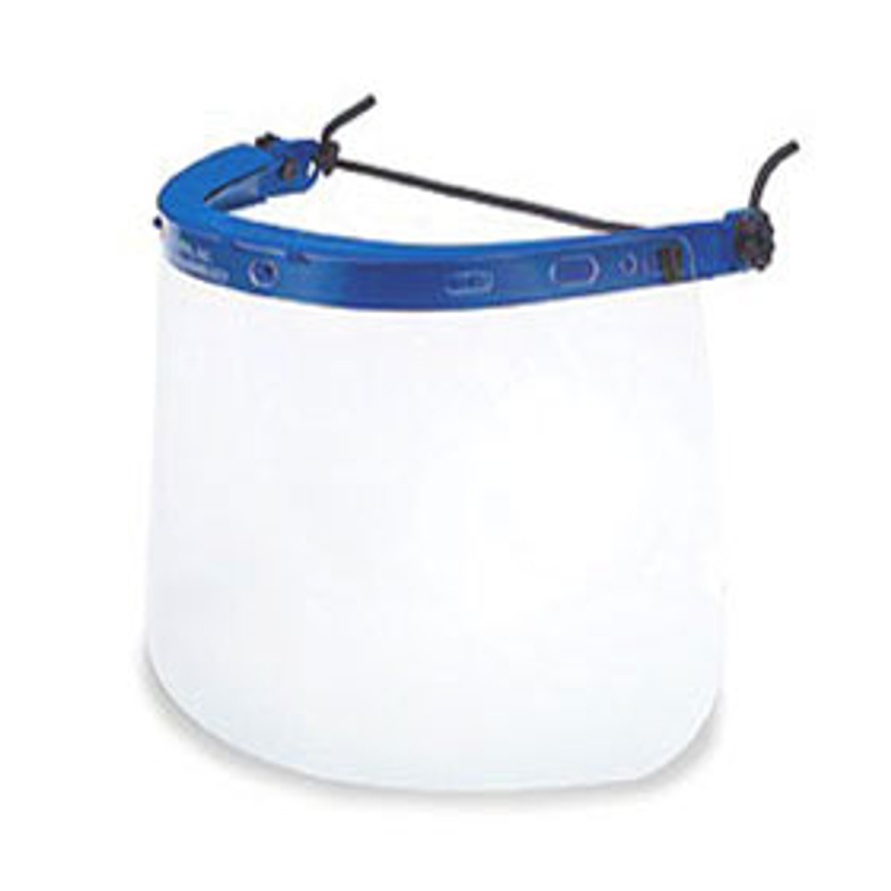 "Clear Faceshield, 8"" x 14"" (HEADBAND NOT INCLUDED)"