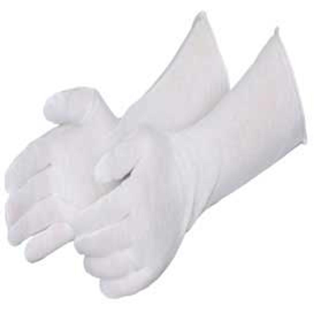 Cotton Lisle Gloves Medium-Weight