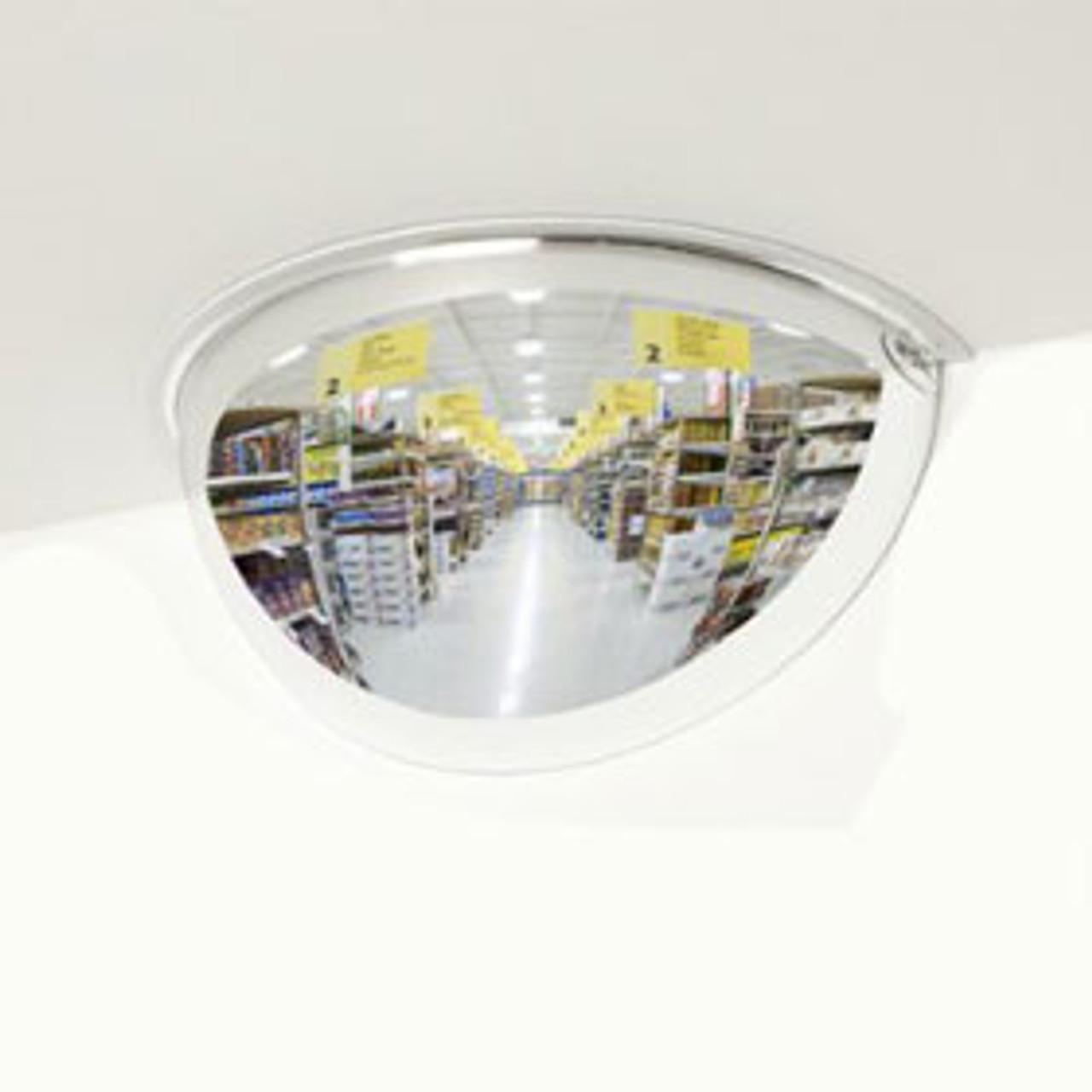 Mirrored Half Dome - 180 degrees