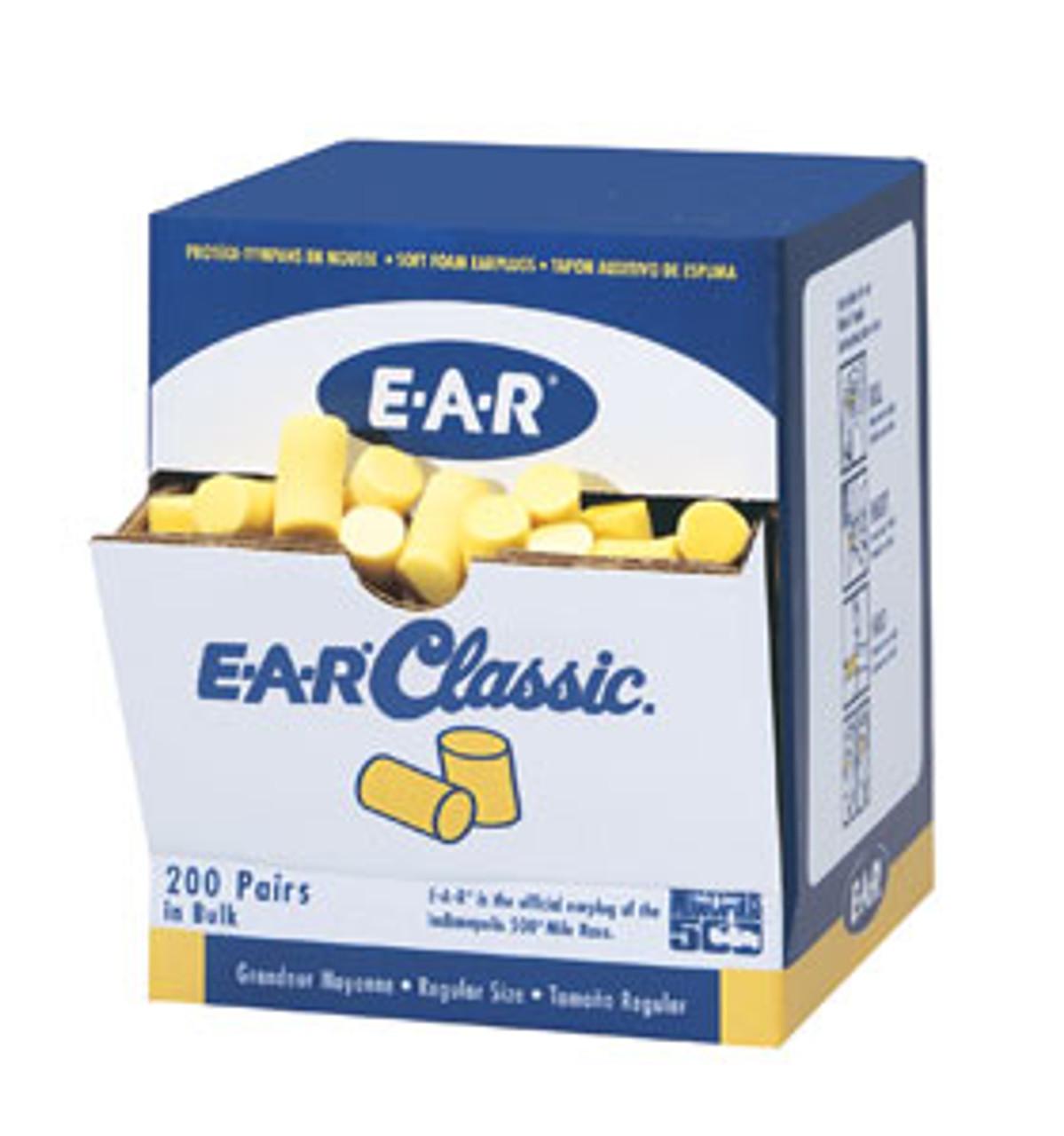 Classic Uncorded PVC Foam Earplugs