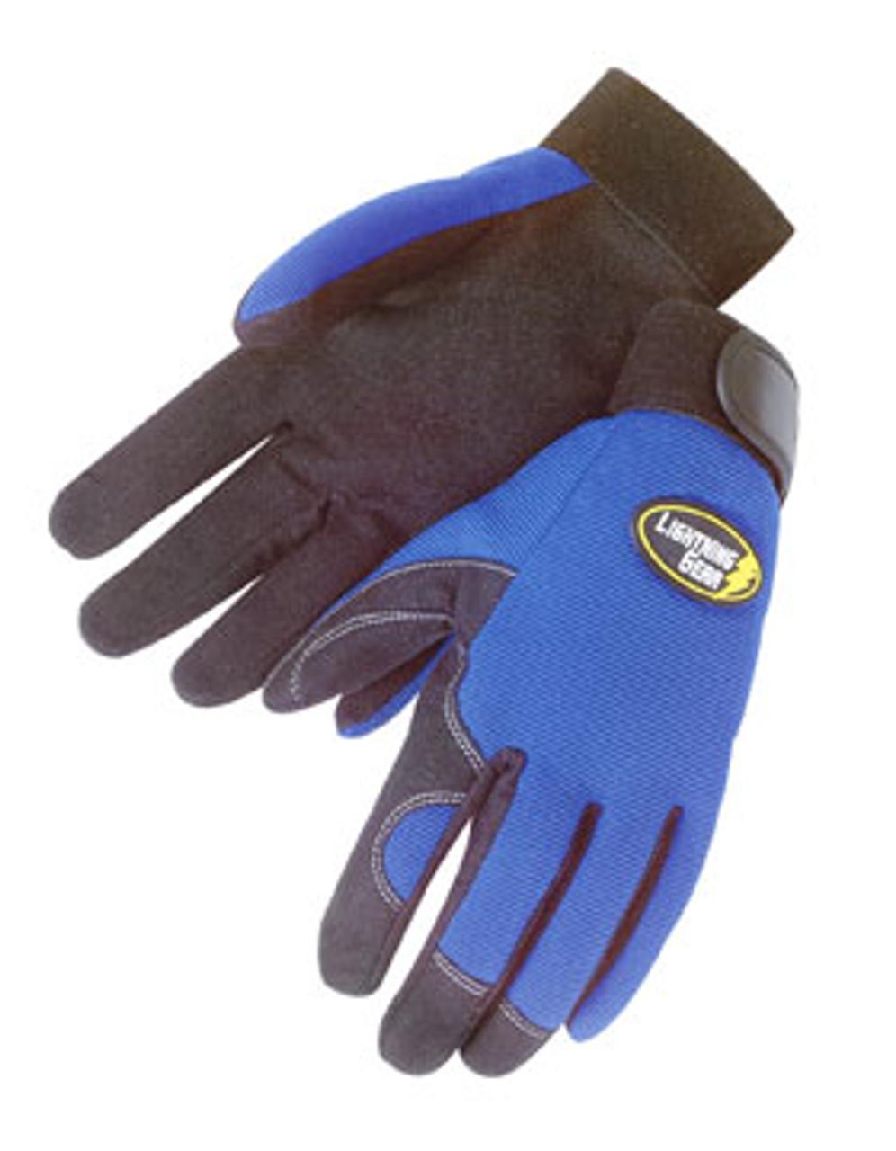 Blue Knight Glove
