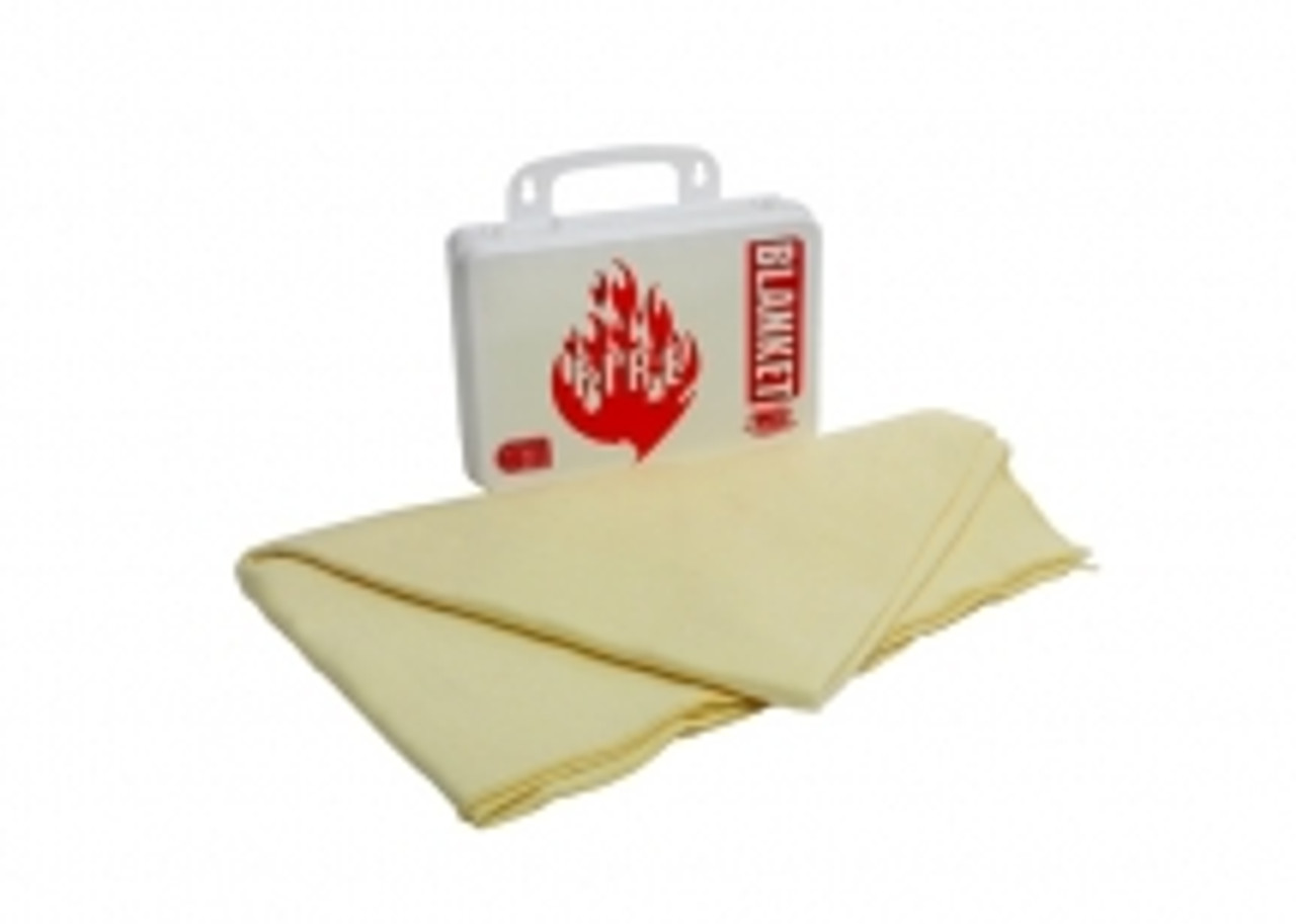 Fire Blanket w/ Poly Case