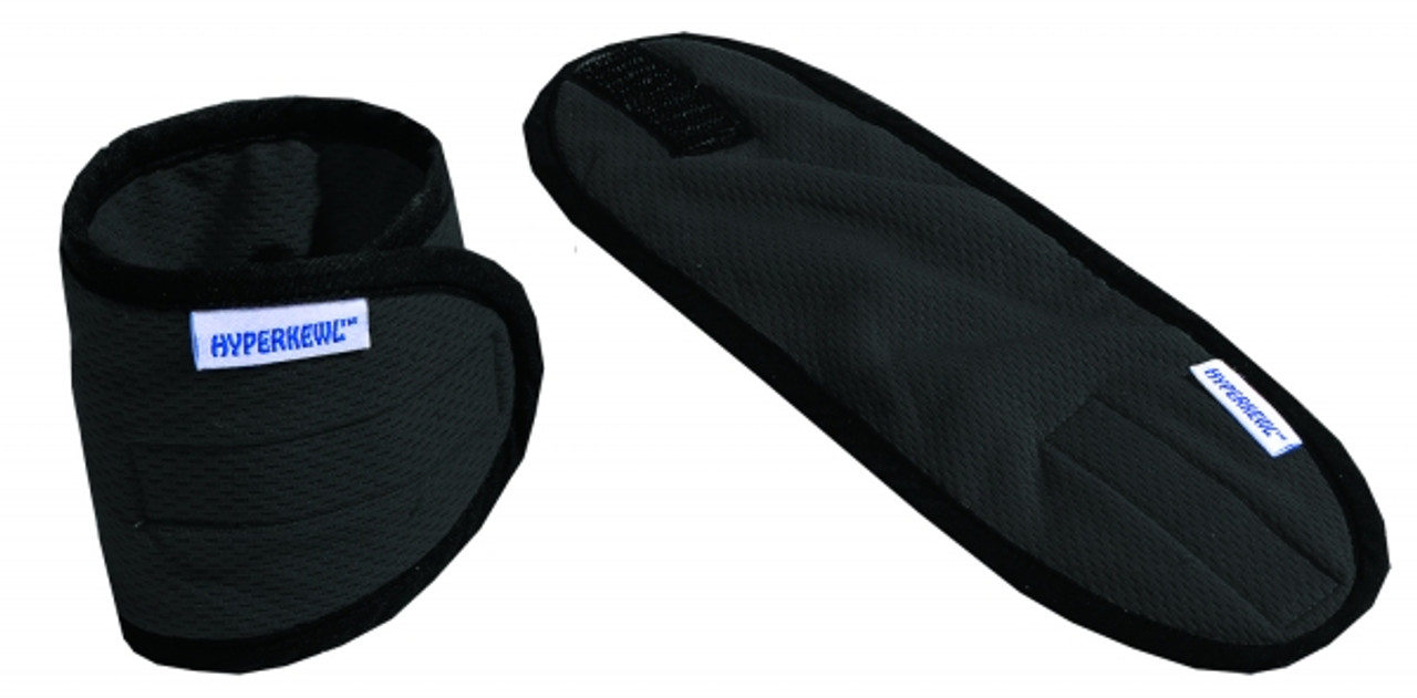 Heat Stress Kit - Vest, Wristband & Crown Cooler w/ Neckshade