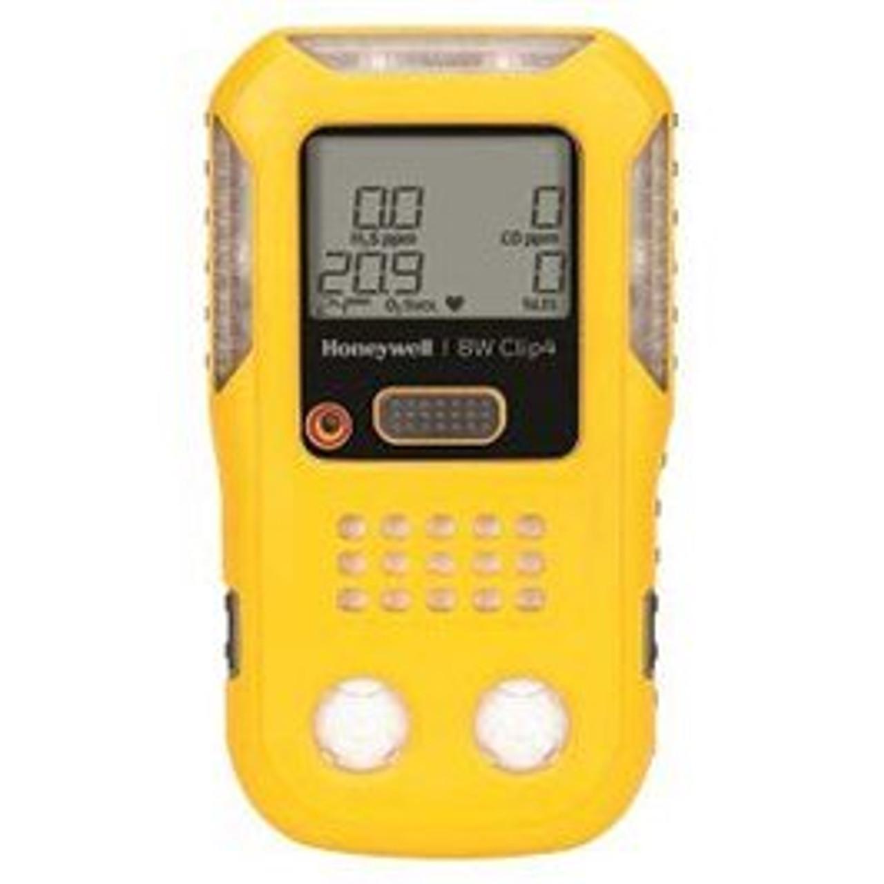 BW Clip4 4-Gas detector (O2, LEL, H2S, CO)