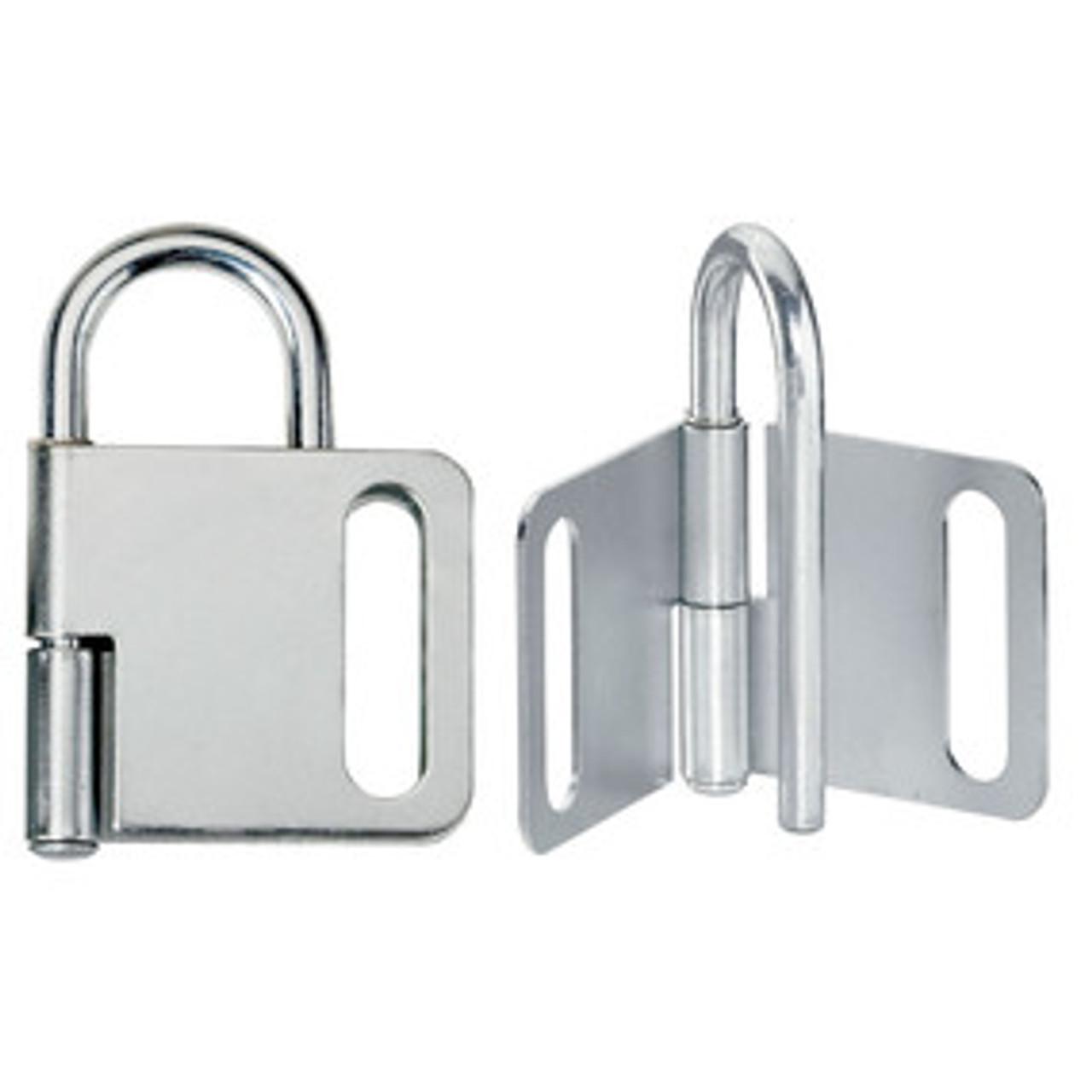 Steel Heavy Duty Lockout Hasp, 1in (25mm) Jaw Clearance