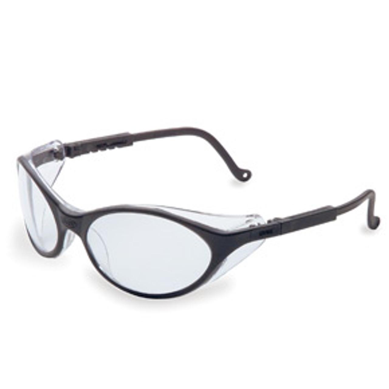 Bandit Safety Glasses, Espresso Lens, Black Frame