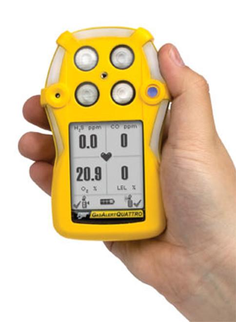 Gas Alert Quattro Multi-Gas Detector