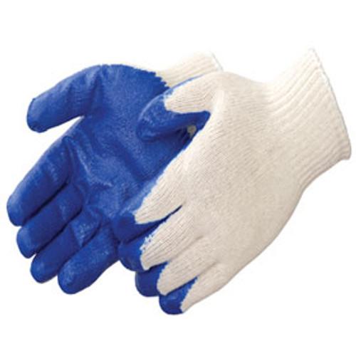Blue Latex Gloves Economy