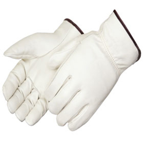 Straight Thumb Cowhide Drivers Gloves