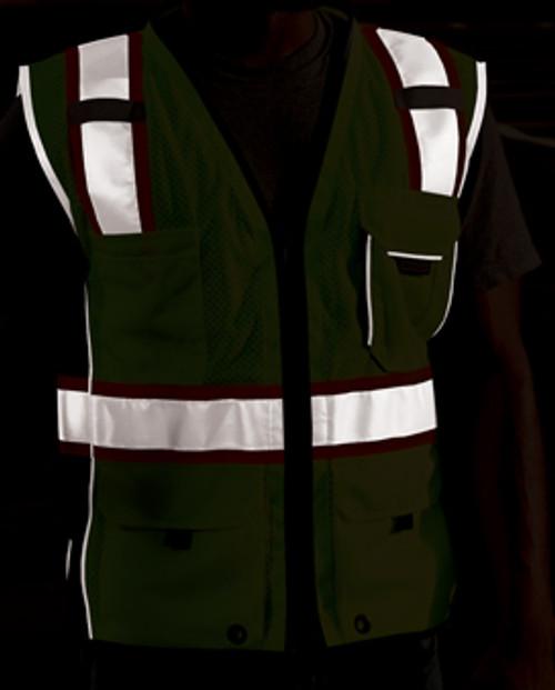 Black Series Vest  Class 2, Lime