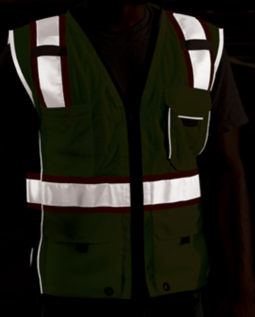 Black Series Vest Class 2, Orange