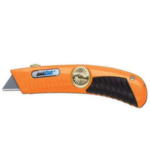 Quickblade Spring Back Safety Knife - Orange