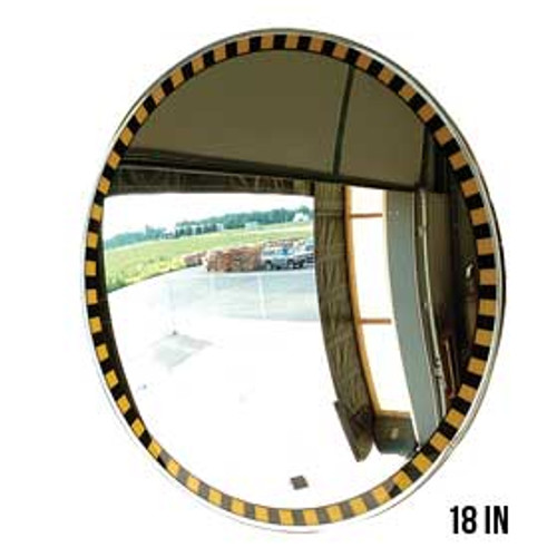 Bordered Convex Indoor Mirror - 18""