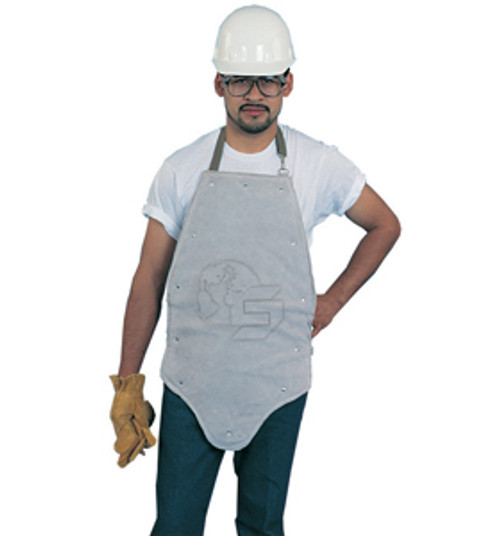Split Leather Kick Back Apron