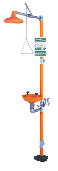 Safety Station w/ Eyewash & Plastic Bowl