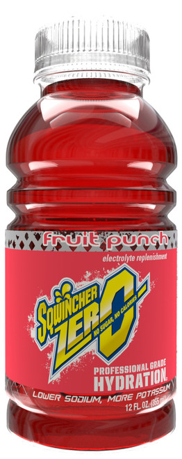 Sqwincher 12-Oz Widemouth Zero Ready-to-Drink (24 Pack)