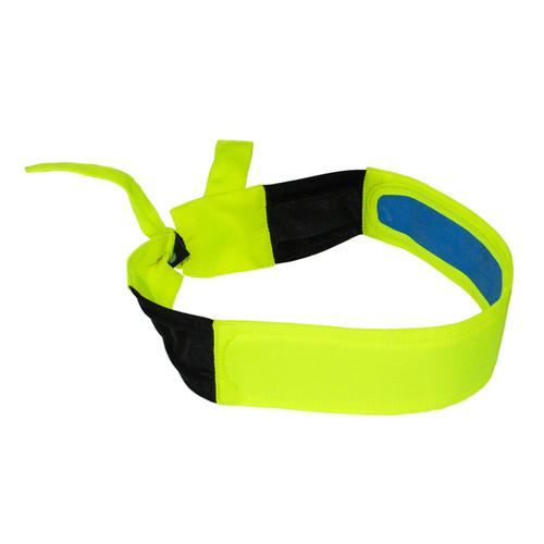 Arctic Radwear Cooling Headband, Hi-Vis Lime