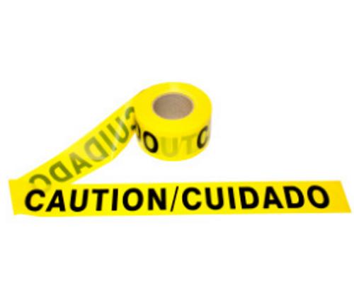 Barricade Tape - Caution/Cuidado - 1000'