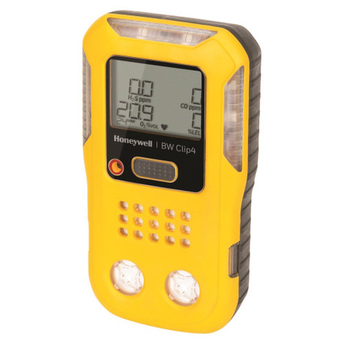 BW Clip4 4-Gas detector (O2, LEL, H2S, CO)