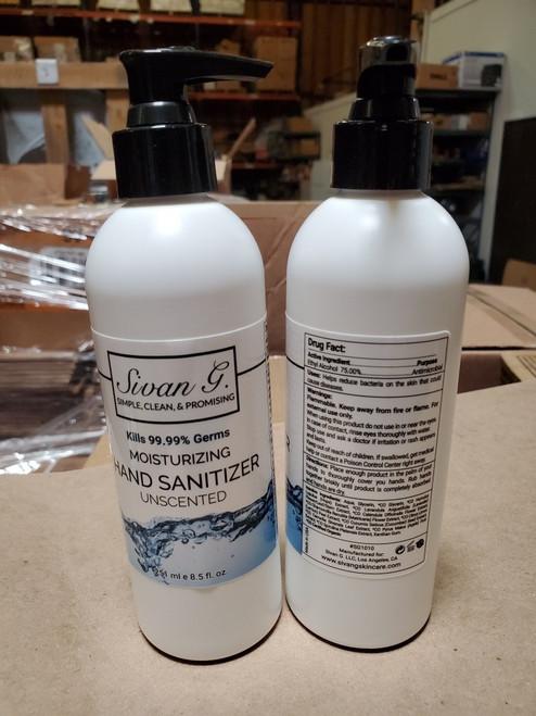 8.5 Hand sanitizer bottles