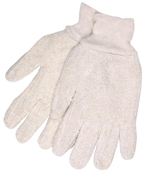 Terrycloth Work Glove String Knit
